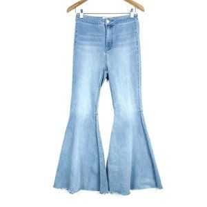Free People High Rise Just Float On Flare Jeans